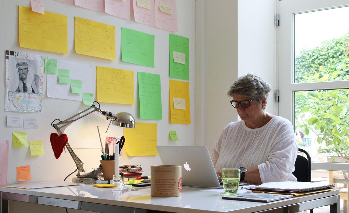 Hanne Christensen udvikler ideer