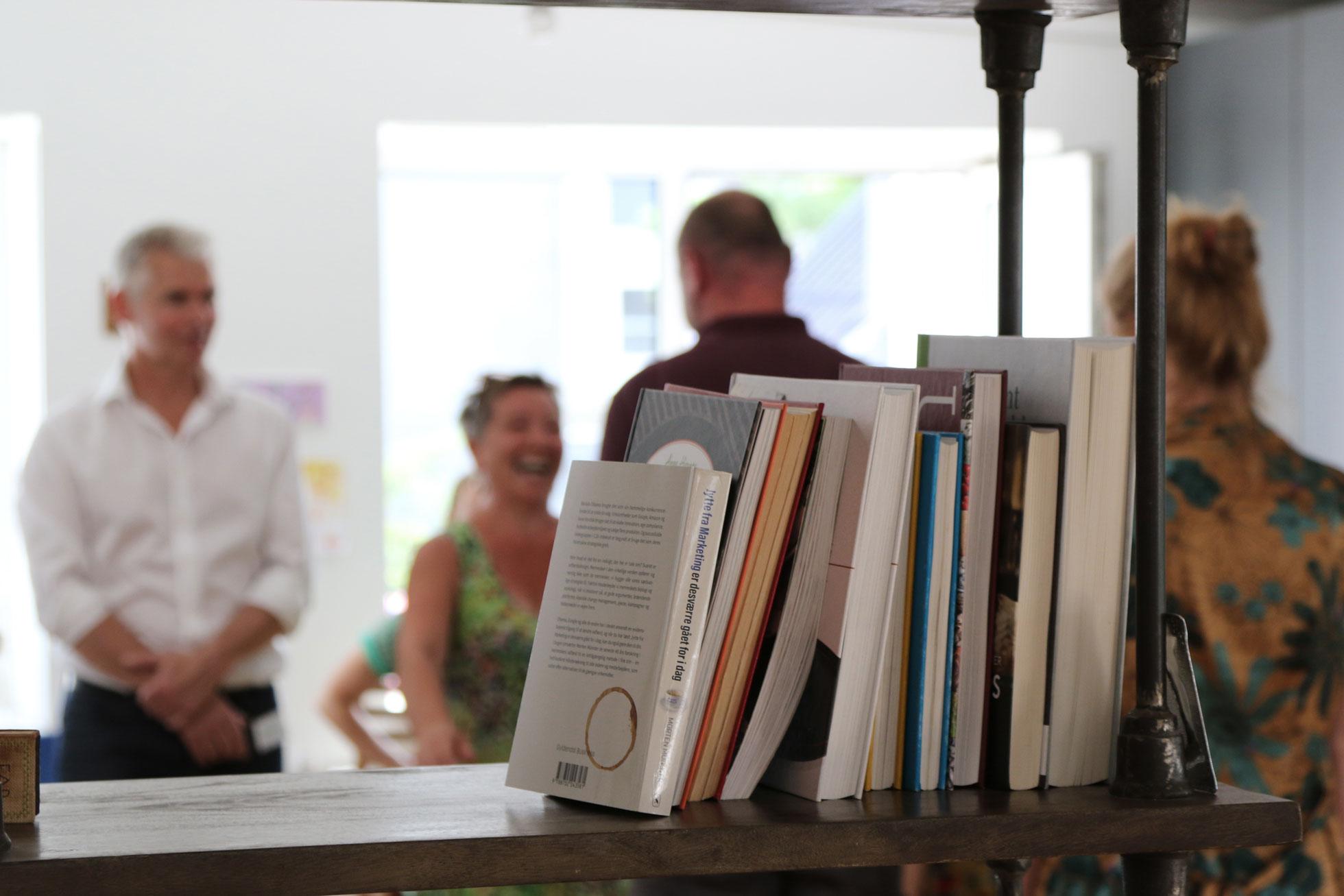 Billede fra læringsforløb i Projekthuset Aron